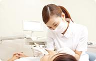 田端の歯科・歯医者、治療中の画像